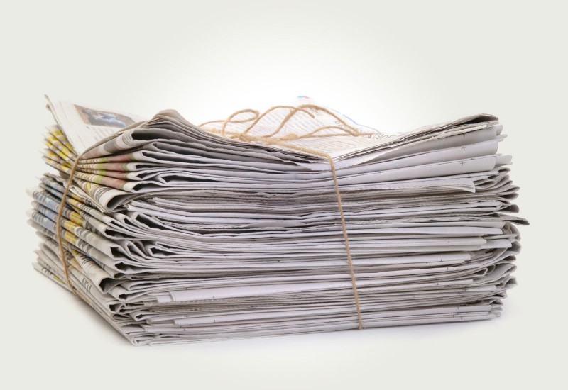 Прием газет в макулатуру бумага из макулатуры спб